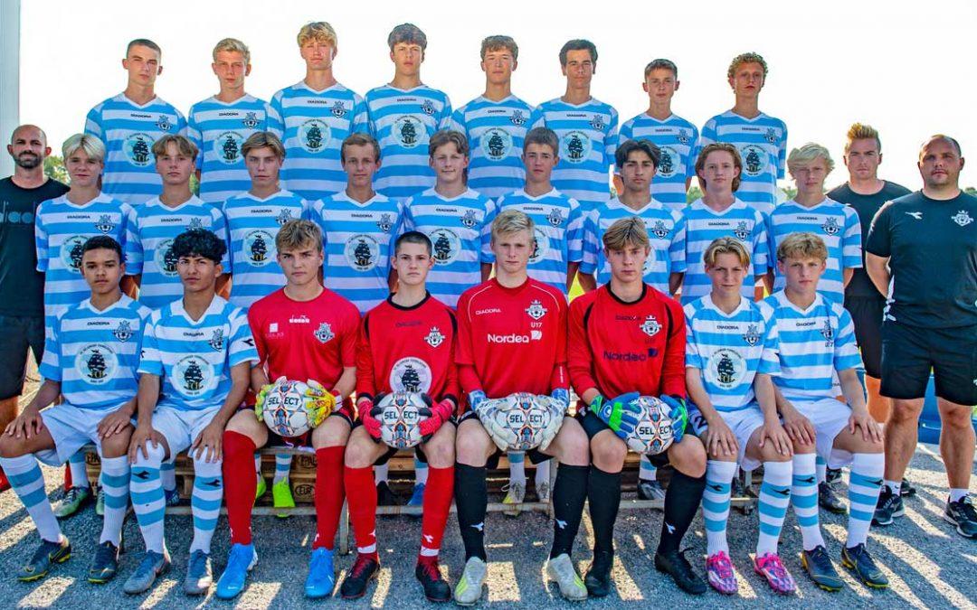 FCH U19 på 1. pladsen i U19 Divisionen – FCH U17 med i toppen af U17 Divisionen