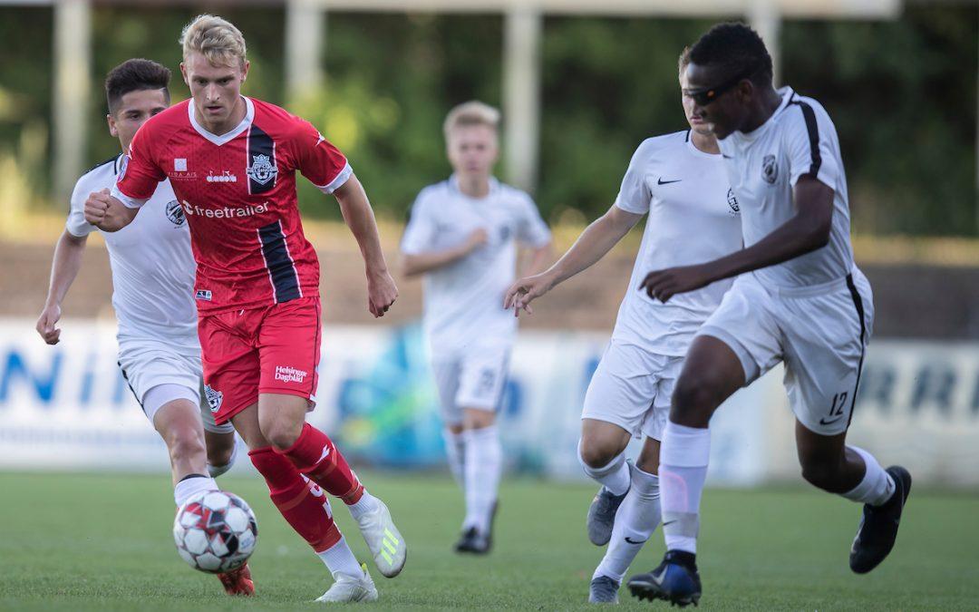 Lucas Lodberg fortsætter karrieren i 2. Divisionsklub på Frederiksberg