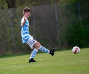 Malte Halvorsen kommer fra Gilleleje FK og har også spillet i Hornbæk IF.