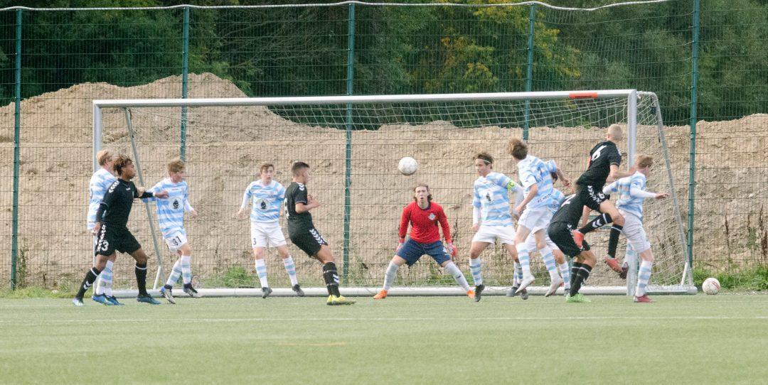 FCH U17 fik hård modstand i dagens kamp mod Akademisk Boldklub