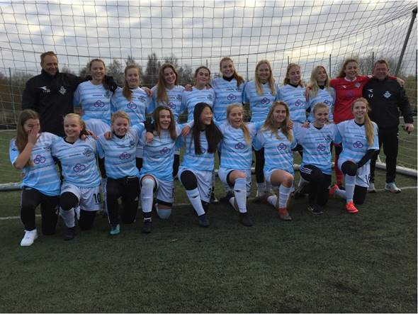 FCH U16 pigerne slutter et flot efterår af med sejr – Vinder rækken suverænt