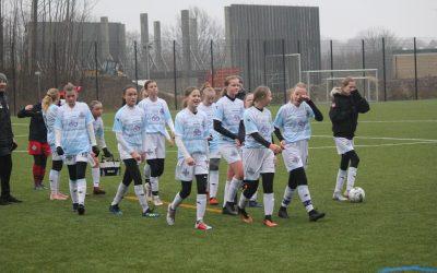 FCH U14 Pigerne fem minutter fra point ude mod Herlufsholm GF