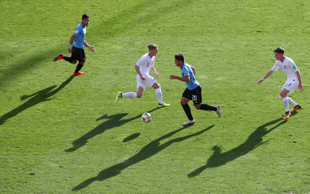 FC Helsingørs Dalton Wilkins med fra start mod Uruguay