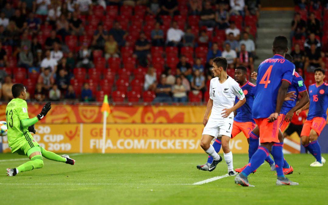 FC Helsingør-spiller sørgede for 1-1 mod Colombia ved U20 VM