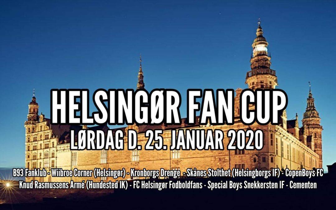 Helsingør Fan Cup 2020 lørdag d. 25. januar – Stævnet, puljer og kampprogram